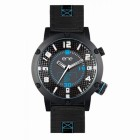 Reloj Ene-watch H.cj.neg.nylon Negro 654000115
