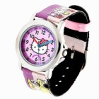 Reloj Hello Kitty.corr.tela.morada 4408601
