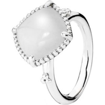 anillo pandora blanco