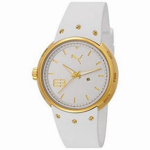 20195fe0613c Reloj Puma M. Hero.blanco Y Dorado PU103042002