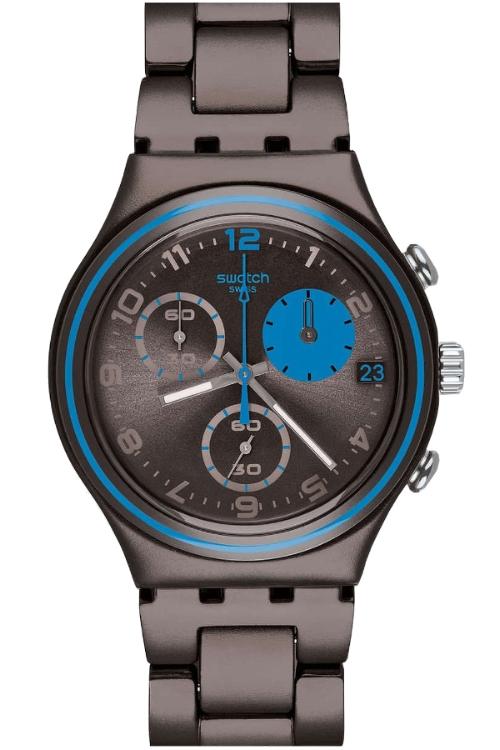 Aluminio Reloj Ycm4003ag Swatch Ycm4003ag Aluminio Marron Marron Swatch Aluminio Reloj Swatch Reloj Marron gbyIYf76v